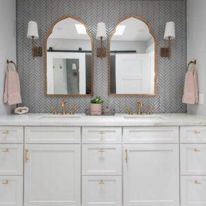 圣地亚哥的大理石主浴室
