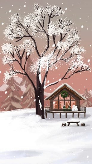 Merry Christmas!  韩国插画师 Chezlin 作品 圣诞节快乐!