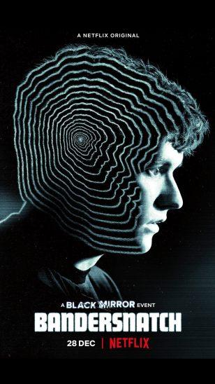 Black Mirror: Bandersnatch - 美剧《黑镜:潘达斯奈基》海报