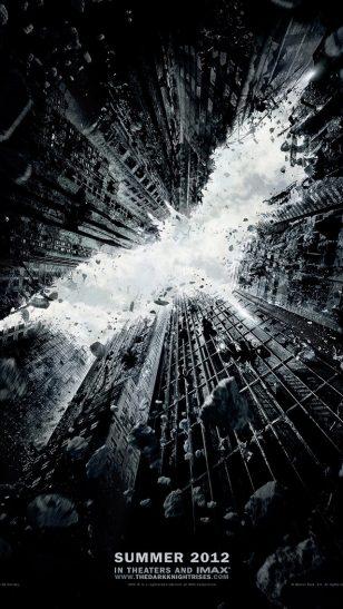 The Dark Knight Rises - 《蝙蝠侠:黑暗骑士崛起》电影海报