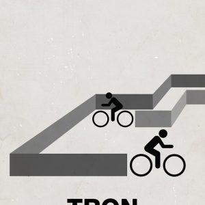 TRON - Viktor Hertz设计作品之《电子世界争霸战》电影海报