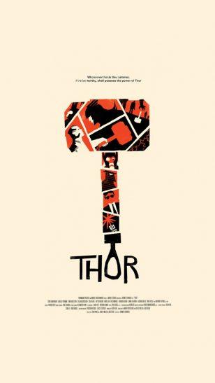 Thor - 《雷神》电影海报