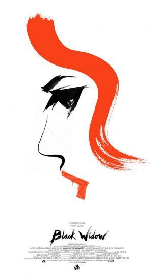 Black Widow - 《黑寡妇》电影海报