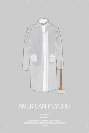 American Psycho - 《美国精神病人》电影海报