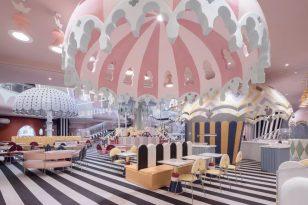 创意女神李想巧用 288 种颜色打造超梦幻亲子中心,惊艳杭州!