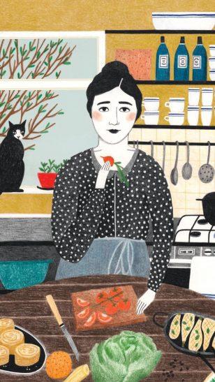 法国插画师 Lieke van der Vorst 彩铅作品