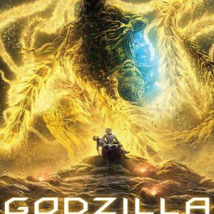Godzilla: The Planet Eater - 日本电影《哥斯拉:噬星者》海报