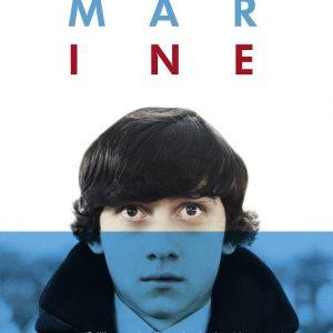 Submarine - 《潜水艇》电影海报,同时也是同名小说的企鹅版图书封面