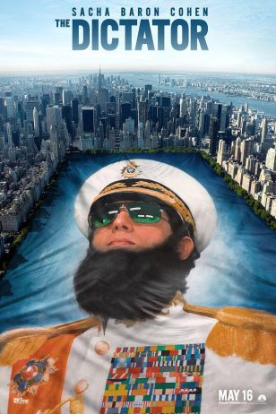 The Dictator - 《独裁者》电影海报
