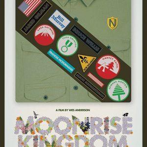Moonrise Kingdom - 《月升王国》电影海报