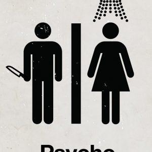 Psycho - Viktor Hertz设计作品之《惊魂记》电影海报