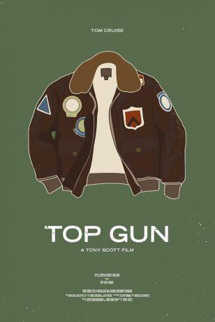 Top Gun - 《壮志凌云》电影海报