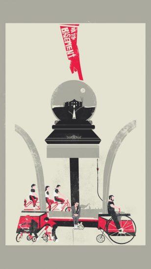 In the Basement - 美国设计工作室 Fro Desgin 作品之《地下室》电影海报