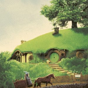 Lord of the Rings  英国插画师 Matt Ferguson 指环王系列作品