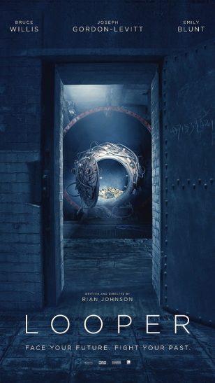 Looper - 《环形使者》电影海报