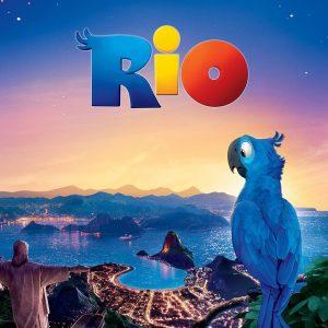 Rio - 《里约大冒险》电影海报