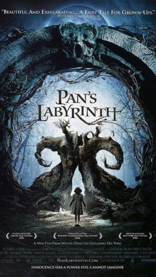 Pan's Labyrinth - 《潘神的迷宫》电影海报