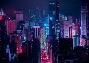发光:Xavier Portela的饱和城市景观