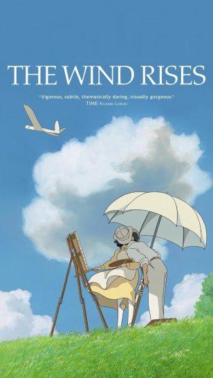 The Wind Rises - 《起风了》电影海报