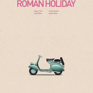 Cars & Films: Roman Holiday - 车与电影系列之《罗马假日》  设计:Jesús Prudencio