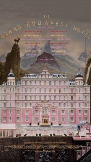 The Grand Budapest Hotel - 《布达佩斯大酒店》电影海报