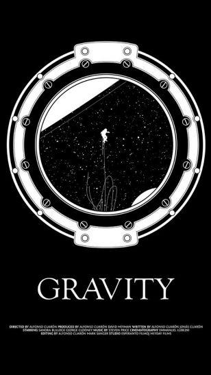 Gravity - 《地心引力》电影海报
