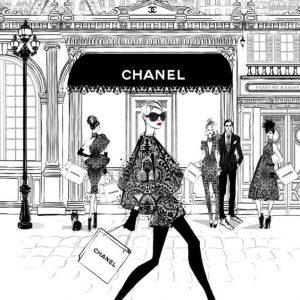 Megan Hess'巴黎风格时尚插画