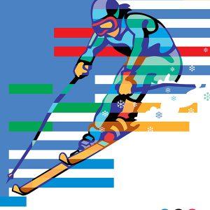 IBM Olympics posters