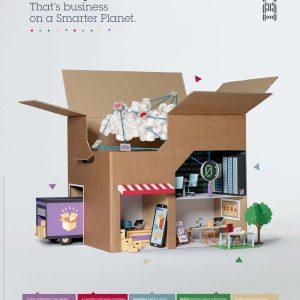 IBM创意海报