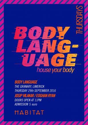 Body Language Poster/Habitat