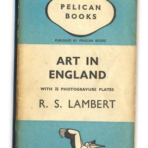 1938 Art in England - R.S.Lambert