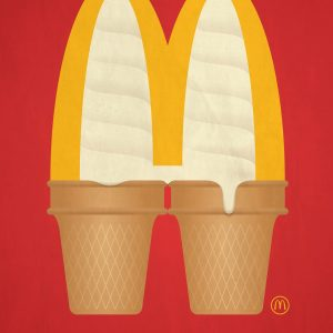 I'm lovin' summer - 麦当劳创意广告:我爱夏天
