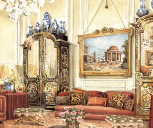 美国设计界传奇人物,主持白宫设计的室内设计大师,手稿惊呆了