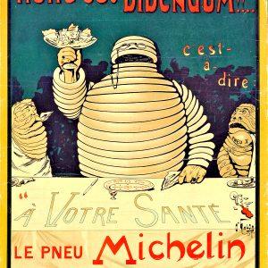 1898年 米其林老海报