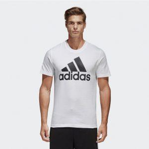 阿迪达斯 ESS LINEAR TEE 运动型格 男短袖T恤 CD4864 CD4863