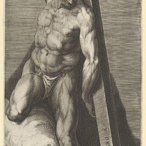 """在西斯廷教堂米开朗基罗的""""最后审判""""壁画之后的好小偷"""