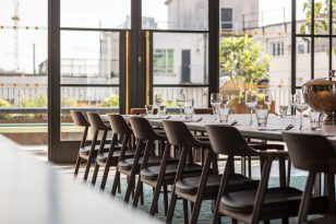Upstairs at The Department Store (英国伦敦) Squire and Partners  London Restaurant  Restaurant or Bar in another space