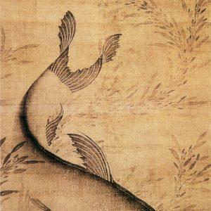 藻鱼图 赖庵