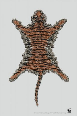 Tiger   世界自然基金会   World Wildlife Fund (WWF)   李奥贝纳   Leo Burnett