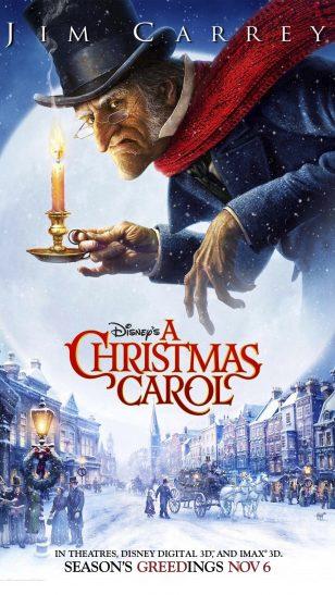 A Christmas Carol - 《圣诞颂歌》电影海报