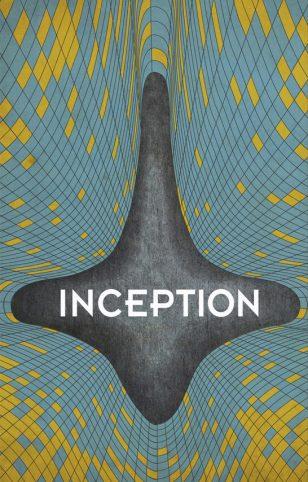 Inception - Noah Hornstein 海报设计作品之《盗梦空间》