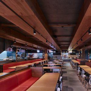 Bang Bang Oriental Food Hall (英国伦敦) Stiff+Trevillion