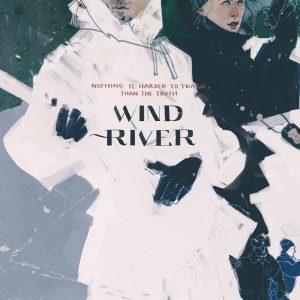 Wind River - 《猎凶风河谷》电影海报 绘画:Darya Shnykina(俄罗斯)