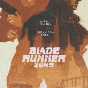 Blade Runner 2049 - 《银翼杀手2049》电影海报 绘画:Darya Shnykina(俄罗斯)