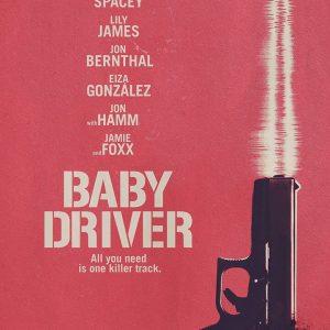 Baby Driver - 《极盗车神》电影海报