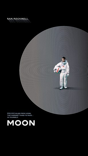 Moon - 《月球》电影海报