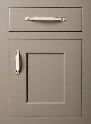 灰色北欧橱柜柜门