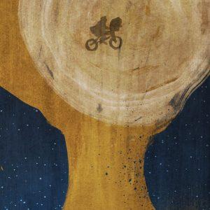 E.T. - 英国设计师 Dean Walton 电影海报作品:《E.T.外星人》