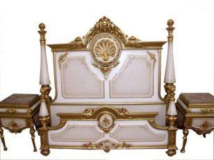 法式雕花床具