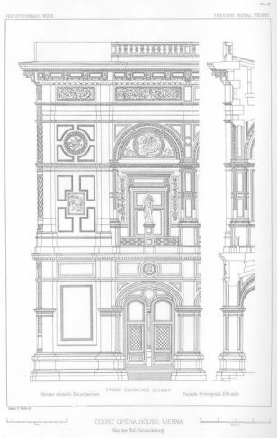 欧式建筑绘画